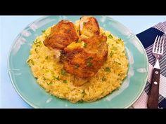 Secretele unui pilaf de orez cu pui, intr-adevar gustos - YouTube Grains, Rice, Youtube, Food, Cooking, Meal, Essen, Hoods, Meals
