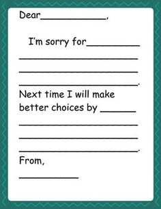 Behavior Reflection: Think Sheet- for purchase.