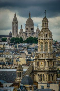 One of the best views of Paris, to and from...