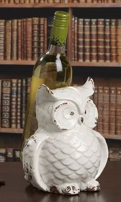 Bombay Owl Wine Holder