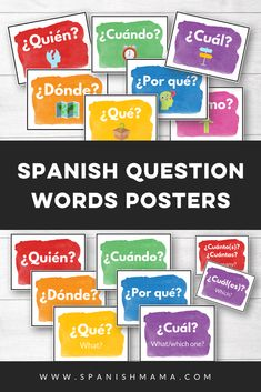Super 7 and sweet sixteen high frequency verb posters in Spanish (also known as Los Super Siete Verbos). Vocabulary Instruction, Spanish Vocabulary, Spanish Language Learning, Teaching Spanish, Vocabulary Games, Teaching French, Preschool Spanish, Spanish Lessons For Kids, Spanish Activities