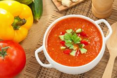 Gazpacho: Enjoy this tangy recipe alone or with your favorite meal!