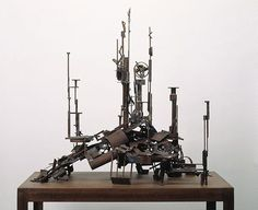 No 329, (1977) by Robert Klippel :: The Collection :: Art Gallery NSW