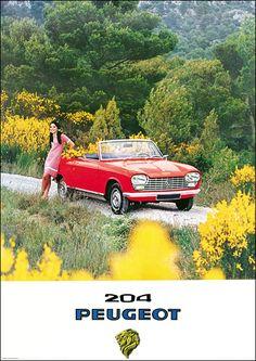 1967 Peugeot 204 Cabriolet