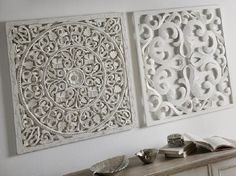 Álbum - Google+ Kitchen Window Treatments, 3d Pattern, Color Palate, Home Living, Sweet Home, Carving, Wood, Frame, Inspiration