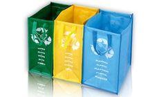 Groupon - Set di 3 borse in PVC per la raccolta differenziata a 14,99 € . Prezzo deal Groupon: €14,99