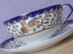 1920's Japanese tea cup and saucer