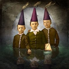 Isabelle Bryer - Boys with Thinking Caps