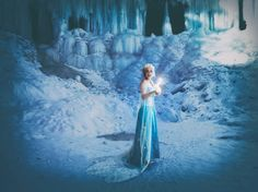Frozen Cosplay Cosplayer: Meagan Marie Photographers: Jane Ferguson and Carla Haglund