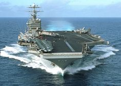 Aircraft Carrier - USS George Washington this is the carrier that Di was on George Washington, Uss Ronald Reagan, Navy Carriers, Uss Nimitz, Naval, Navy Aircraft, United States Navy, Navy Ships, Aircraft Carrier