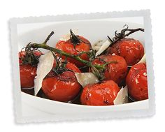 Maker's Mark® and Balsamic Roasted Tomatoes  by Lee Anne Wong, Chef and Maker's Mark® Cookbook Editor