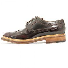 Grenson Shoes |Sid Burgundy Brogue 519015