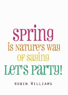 And who are we to argue? #spring