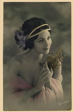 Beautiful vintage card