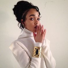 PAISLEY CUFF - Everything You Need to Know About FKA Twigs  #InStyle