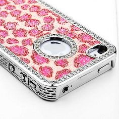 iphone 4s cases for girls pandamimi ulak tm sweety pink bling cover 17348