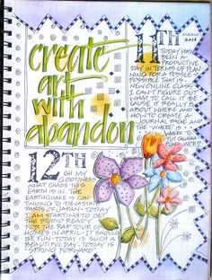 create with abandon
