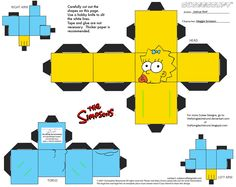 PaperToy_The Simpsons - Maggie Simpson