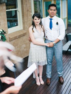 Cross-Cultural Backyard Wedding: Yazid + Michaela