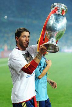 Sergio Ramos Photo - Spain v Italy - UEFA EURO 2012 Final hell yeah