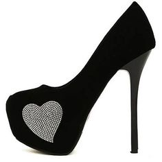 Womens Shoes, Pumps Shoes, Affordable Round Closed Toe Back Chains Embellished Stiletto High Heels Pumps