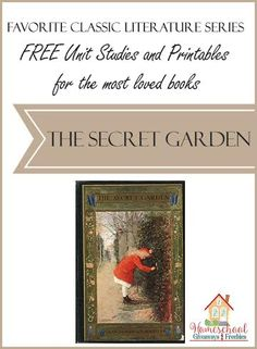 Homeschool families love to tuck classic literature into their homeschooling. Homeschool Giveaways offers Free Unit Studies and Printables for the Most Loved Bo secret garden FREE Unit Studies and Printables for the Most Loved Books: The Secret Garden Classic Literature, Children's Literature, Literature Circles, Secret Garden Book, Book Study, Book Activities, Phonics, The Unit, Unit Studies