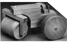 Ah! E se falando em madeira...: mini trator