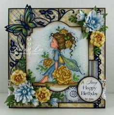 "From My Craft Room: A Fairy Happy Birthday - Magnolia-licious ""W""ednesday #38"