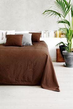 Ágytakaró ALVIK 160x220 cm barna | JYSK