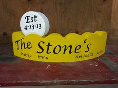 Welcome Painted Bricks Crafts, Brick Crafts, Painted Pavers, Painted Gourds, Concrete Crafts, Cement Pavers, Brick Pavers, Concrete Blocks, Painting Edges
