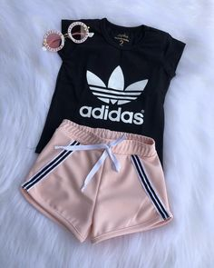 Cute Lazy Outfits, Sporty Outfits, Swag Outfits, Baby Outfits, Pretty Outfits, Stylish Outfits, Teen Fashion Outfits, Baby Girl Fashion, Outfits For Teens