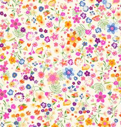 Ditsy flowers vector image on VectorStock Pink Patterns, Textile Patterns, Textiles, Kids Wall Decor, Ditsy Floral, Printable Paper, Paper Quilling, Vector Background, Pattern Wallpaper