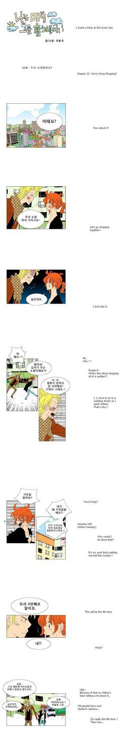 [Webtoon] I Sneak A Peak At Him Every Day 22 @ HanCinema :: The Korean Movie and Drama Database