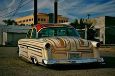 1954 Ford, Lead Sled, Chula, Kustom Kulture, Pinstriping, Street Rods, Old Cars, Custom Cars, Cars And Motorcycles
