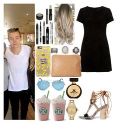 """""""Starbucks with Harry"""" by zandramalik ❤ liked on Polyvore featuring 3.1 Phillip Lim, Sam Edelman, Casetify, BKE, Victoria Beckham, Lord & Berry and Karl Lagerfeld"""