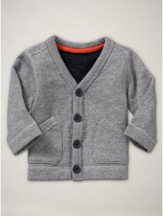 lil' grandpa cardi OMG I LOVE Cardigans SO much my future son WILL have this!