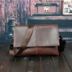HOT!! 2017 New Men's Messenger Bags Briefcase 100% PU Leather Bag Brand Luxury Laptop Shoulder Bag For Men