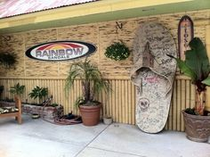 rainbow hq in san clemente...probably nearly as sweet as working on the beach..
