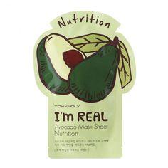 I'M REAL AVOCADO MASK SHEET - NUTRITION