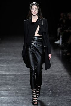 Visions of the Future: Ann Demeulemeester Spring 2010 RTW