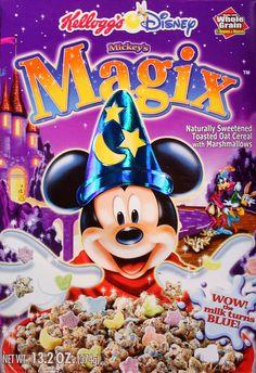 Mickey's Magix Cereal (Kellogg's; 2002)