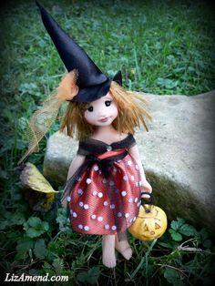 Corrine, a sweet witch faery...  www.LizAmend.com