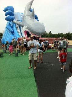 Cape Cod Inflatable Park Pictures  South Dennis MA.