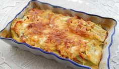 Zucchini casserole with tomatoes Category: Breakfast & Brunch Zucchini Casserole, Casserole Recipes, Good Food, Yummy Food, Tomato And Cheese, Puff Pastry Recipes, Romanian Food, Russian Recipes, Stuffed Sweet Peppers