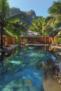 Dinarobin Hotel and Spa, Mauritius.