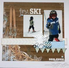First Ski - Scrapbook.com