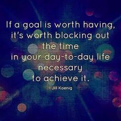 What are your goals or today?