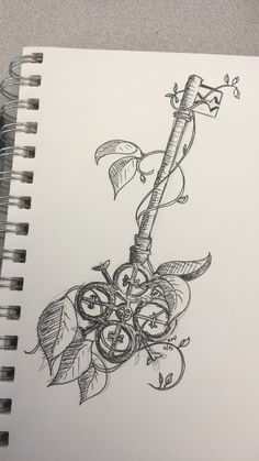 "Latest Pictures Secret Garden key Strategies In Francis Hodgson Burnett wrote the sunday paper entitled ""The Secret Garden&rdquo ; Key Drawings, Tattoo Drawings, Body Art Tattoos, Sleeve Tattoos, Art Drawings Sketches, Bow Tattoos, Heart Tattoos, Compass Tattoo, Tattoo Key"