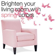 Marie's Corner Armchair - Boonville (pink) : Brighten your living room with spring colors