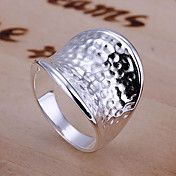 Simple Silver Thumb Ring – EUR € 3.83